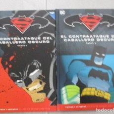 Cómics: COLECCION COMPLETA BATMAN EL CONTRAATAQUE DEL CABALLERO OSCURO DOS TOMOS TAPA DURA DC COMICS. Lote 127085375