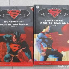 Cómics: COLECCION COMPLETA SUPERMAN POR EL MAÑANA DOS TOMOS TAPA DURA DC COMICS. Lote 127085883