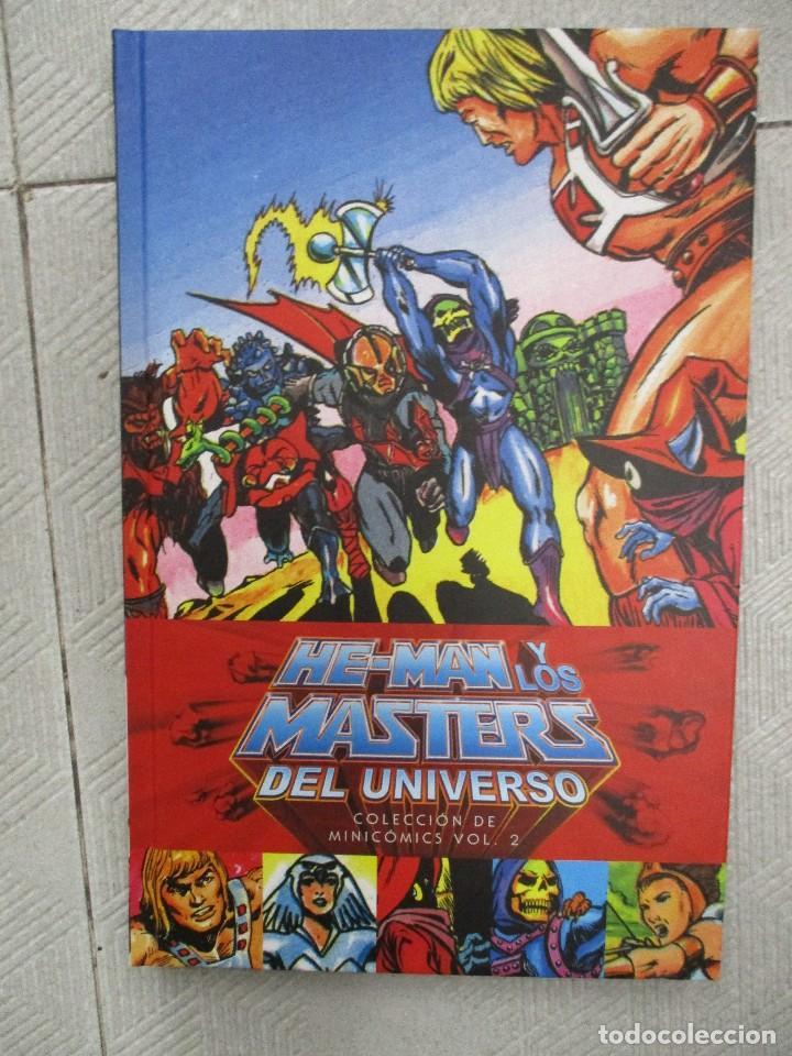 HE MAN Y LOS MASTERS DEL UNIVERSO COLECCION MINI COMICS VOL 2 TAPA DURA (Tebeos y Comics - Comics otras Editoriales Actuales)