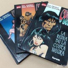 Cómics: CONAN Y BÊLIT -COMPLETA,3 TOMOS- FORUM,2002. NUEVOS.. Lote 151417626