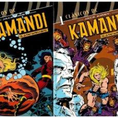 Cómics: CLÁSICOS DC JACK KIRBY: KAMANDI. -COMPLETA 5 TOMOS- PLANETA 2006.. Lote 143215920