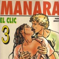 Cómics: MANARA EL CLIC 3. Lote 127498523
