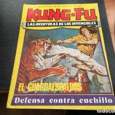 Cómics: KUNG FÚ- Nº 24 -EL GUARDAESPALDAS-1978-JORDI BERNET-BERMEJO- CÉSAR LÓPEZ-MUY BUENO-RARO-AMENO-9050. Lote 127654447