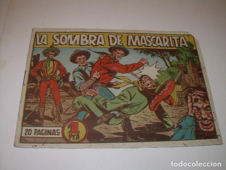 COMIC....LA SOMBRA DE MASCARITA. (Tebeos y Comics Pendientes de Clasificar)