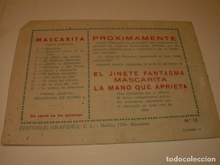 Cómics: COMIC....LA SOMBRA DE MASCARITA. - Foto 2 - 127669247