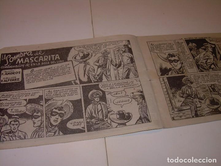 Cómics: COMIC....LA SOMBRA DE MASCARITA. - Foto 3 - 127669247