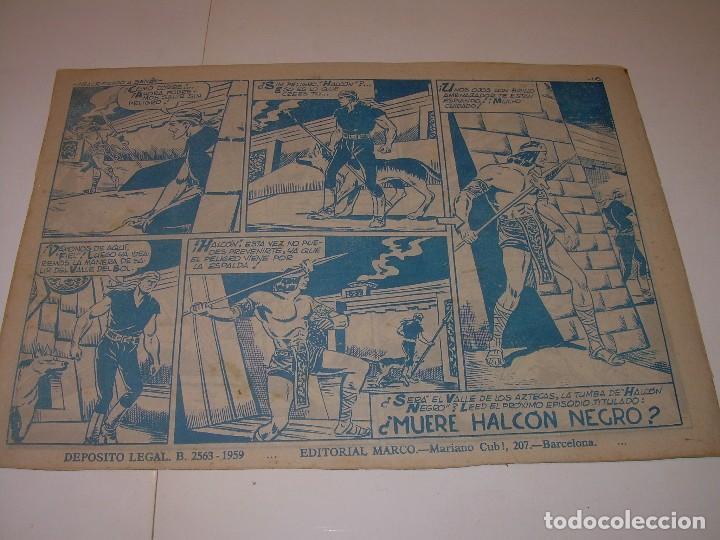 Cómics: COMIC.....EL HALCON NEGRO. - Foto 2 - 127669387