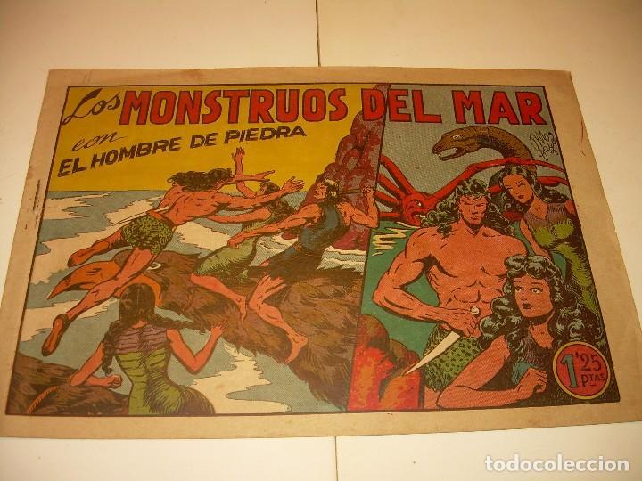 COMIC......LOS MONSTRUOS DEL MAR. (Tebeos y Comics Pendientes de Clasificar)