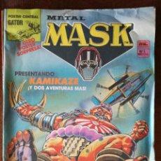 Cómics: 2 COMICS METAL MASK MC Nº 2 Nº 5 AÑOS 80 NUEVO. Lote 127728935