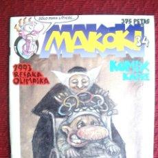Cómics: MAKOKI Nº 34. Lote 127742731