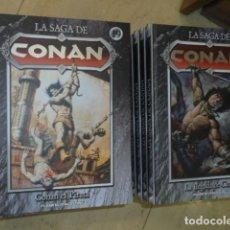 Cómics: LA SAGA DE CONAN COMPLETA 35 TOMOS - PLANETA OFERTA. Lote 127781739