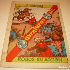 Cómics: COMIC....LA GUERRA..ROJOS EN ACCION.. Lote 127787815