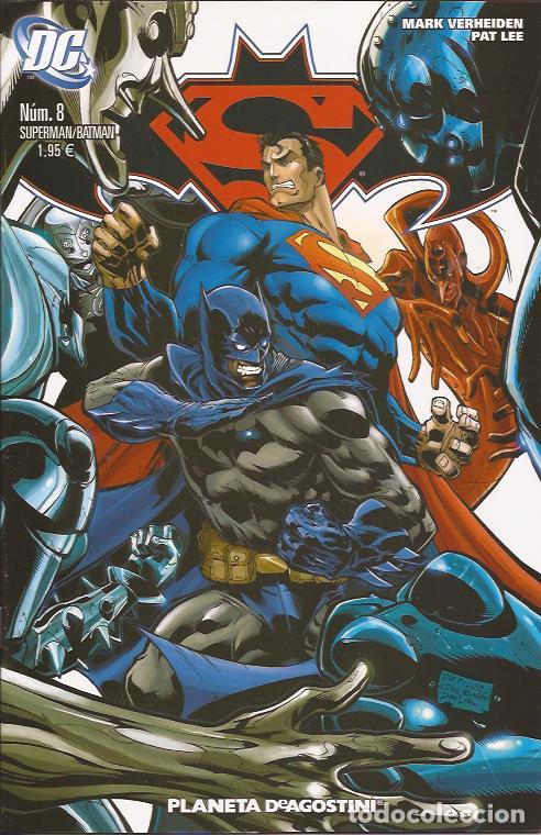 COMIC- SUPERMAN BATMAN Nº 8 DC COMICS PLANETA (Tebeos y Comics Pendientes de Clasificar)