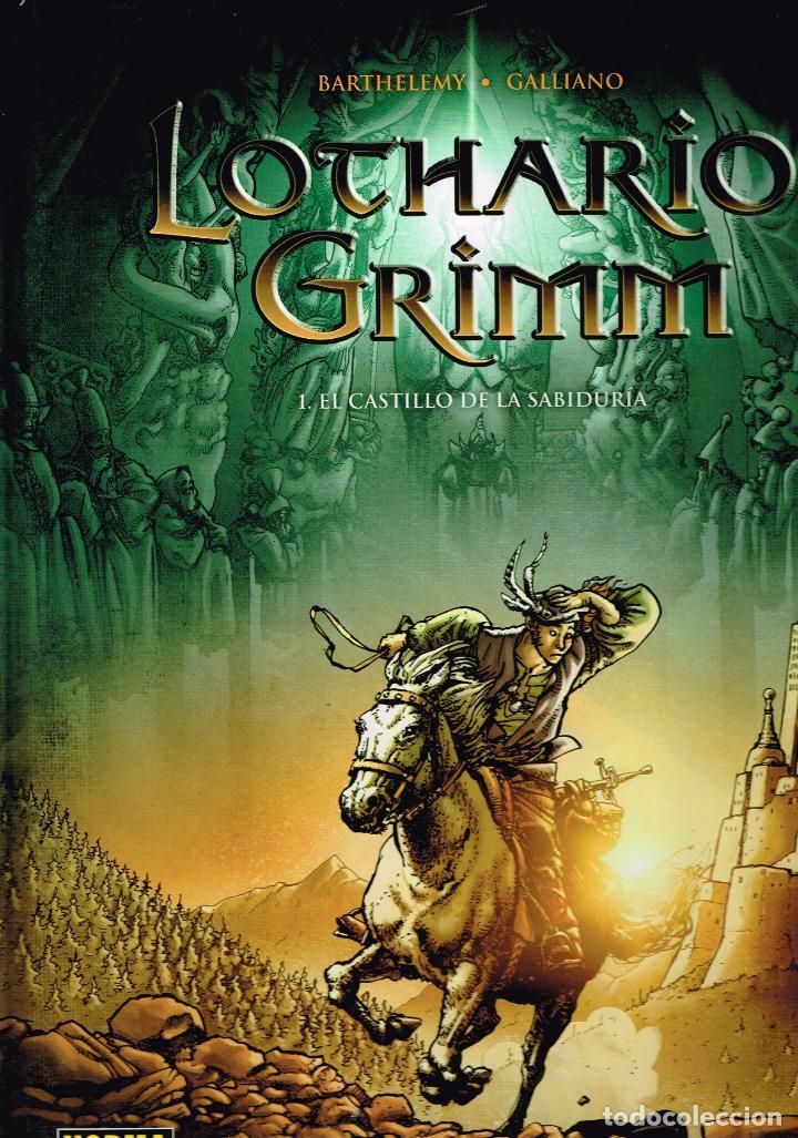 LOTHARIO GRIMM.Nº 1.EL CASTILLO DE LA SABIDURÍA.NORMA EDITORIAL (Tebeos y Comics Pendientes de Clasificar)