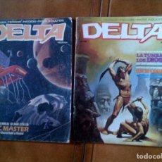 Cómics: COMIC DELTA N,14 Y 26 AÑO 1980 . Lote 127952251