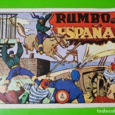 Cómics: RUMBO A ESPAÑA EN FORMATO GRANDE APAISADO. Lote 128060531