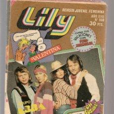 Cómics: LILY. REVISTA JUVENIL FEMENINA. Nº 968. CON POSTER CENTRAL. BRUGUERA. (ST/A16). Lote 128106939