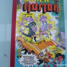 Cómics: SUPER HUMOR Nº XXXVI 36 EDICIONES B ENERO 1990 CARPANTA ROMPETECHOS ZIPI ZAPE MORTADELO . Lote 128182759