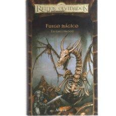 Cómics: REINOS OLVIDADOS FUEGO MAGICO. Lote 128338155