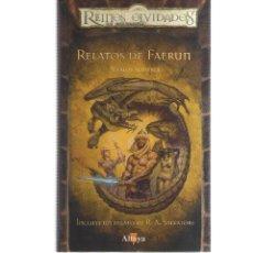 Cómics: REINOS OLVIDADOS RELATOS DE FAERUN. Lote 128338311