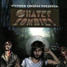 Cómics: JESUS HATES ZOMBIES (GENTLE NOISE, 2011) DE STEPHEN LINSDAY. Lote 128387603