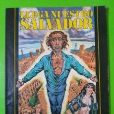 Cómics: LLEGA NUESTRO SALVADOR DEL AÑO 1981 ÁLBUM EN RÚSTICA MUY MUY BUENO. Lote 128398067