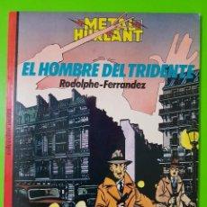 Cómics: EL HOMBRE DEL TRIDENTE POR RODOLPHE Y FERRÁNDEZ ÁLBUM EN RÚSTICA. Lote 128398103