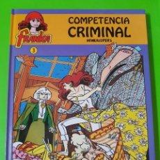 Cómics: FRANKA Nº 3 COMPETENCIA CRIMINAL ÁLBUM EN TAPAS DURAS PRÁCTICAMENTE NUEVO. Lote 128398151