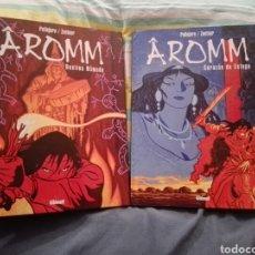 Cómics: AROMM COMPLETA 2 TOMOS GLENAT. Lote 128518335
