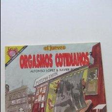 Fumetti: ORGASMOS COTIDIANOS 2, ALFONSO LOPEZ, XAVIER ROCA, EL JUEVES, COLECCION PENDONES DEL HUMOR 77 CS136. Lote 128535711