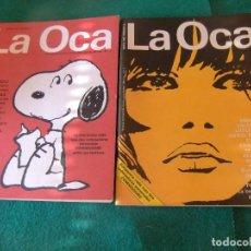 Cómics: LA OCA NUMEROS 1 Y 2 1985. Lote 128560603