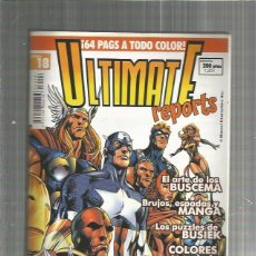 Cómics: ULTIMATE REPORTS 18. Lote 128617735