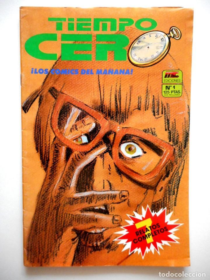 TIEMPO CERO Nº 1 ( MC EDICIONES ) (Tebeos y Comics - Comics otras Editoriales Actuales)