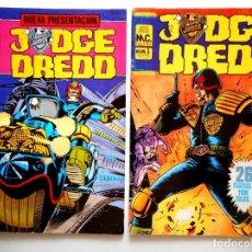 Cómics: JUDGE DREDD Nº 4 - 5 ( MC EDICIONES ). Lote 128620747