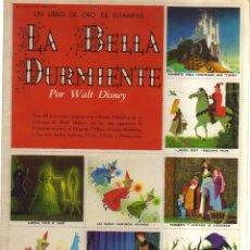 Cómics: EL LIBRO DE ORO DE ESTAMPAS LA BELLA DURMIENTE POR WAIT DISNEY. Lote 128625523
