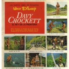 Cómics: DAVY CROCKETT EL REY DE LA FRONTERA EL LIBRO DE ESTAMPAS WALT DISNEY. Lote 128626655