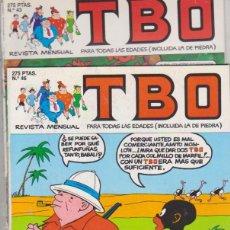 Cómics: TBO Nº 43 Y 46. EDICIONES B.. Lote 128635447