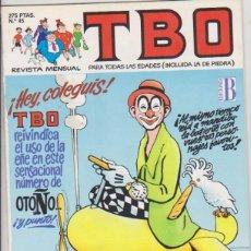 Cómics: TBO Nº 45. EDICIONES B.. Lote 128635451