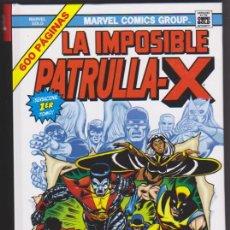 Cómics: LA IMPOSIBLE PATRULLA X. 1ER. TOMO. 600 PÁGINAS SIN U-SAR. PANINI.. Lote 128635531