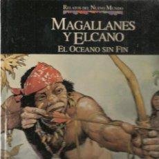 Cómics: RELATOS DEL NUEVO MUNDO. Nº 5. MAGALLANES / EL CANO. PLANETA / QUINTO CENTENARIO. (B/A18). Lote 128641227