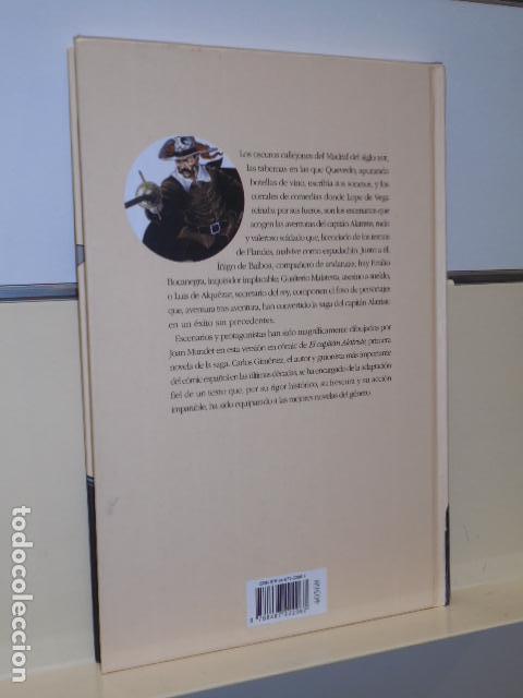 Cómics: EL CAPITAN ALATRISTE GUION CARLOS GIMENEZ DIBUJOS JOAN MUNDET ARTURO PEREZ REVERTE -CIRCULO LECTORES - Foto 2 - 128655659