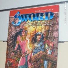 Cómics: SWORD REVISTA DE FANTASIA HEROICA CUARTA EPOCA Nº 3 - ALETA EDICIONES -. Lote 128735531