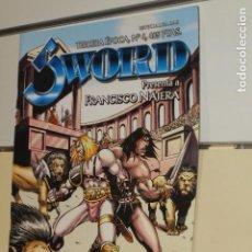 Cómics: SWORD REVISTA DE FANTASIA HEROICA TERCERA EPOCA Nº 4 - LA FACTORIA DE IDEAS -. Lote 128735683