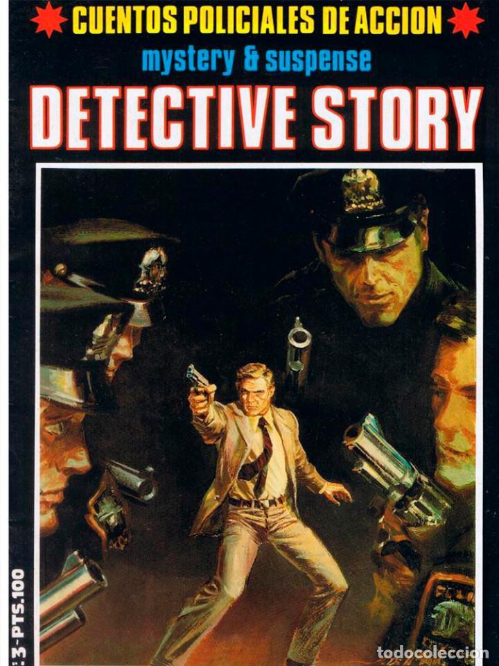 Cómics: DETECTIVE STORY 5 UNIDADES Nº 1-2-3-4-5 MISTERIO SUSPENSE 1989 NEW COMIC NUEVO - Foto 3 - 128859211