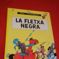 Cómics: JAN I TRENCAPINS 07: LA FLETXA NEGRA (CATALÀ), PEYO - EDITORIAL BASE 2014. Lote 128886779