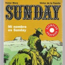 Cómics: SUNDAY. . MI NOMBRE ES SUNDAY. GLENAT. (ST/A17). Lote 129061959