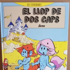 Cómics: ELS CENTAURES / EL LLOP DE DOS CAPS / ED - BARCANOVA - 1991 / TAPA DURA. Lote 129314263