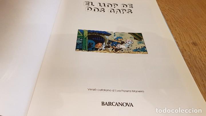 Cómics: ELS CENTAURES / EL LLOP DE DOS CAPS / ED - BARCANOVA - 1991 / TAPA DURA - Foto 2 - 129314263