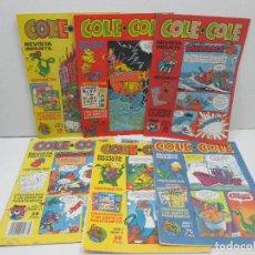 Cómics: LOTE DE 6 REVISTAS INFANTIL COLE COLE. Lote 129453159