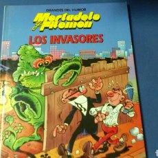 Cómics: MORTADELO Y FILEMON .LOS INVASORES .F.IBÁÑEZ .. Lote 129461739